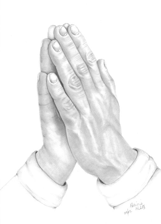 Praying Hands - PatriciaHiltz
