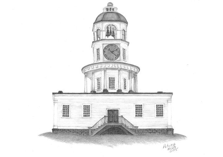 Halifax Town Clock - PatriciaHiltz