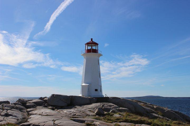 Peggy's Cove Lighthouse - PatriciaHiltz