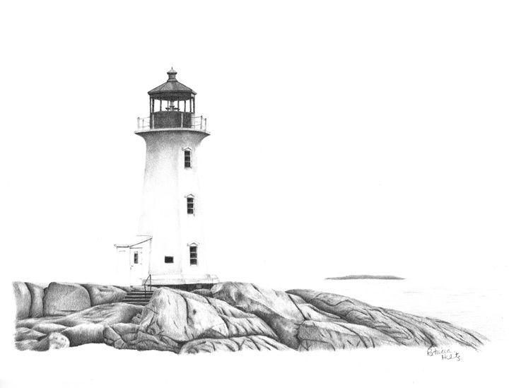 Lighthouse of Peggy's Cove - PatriciaHiltz