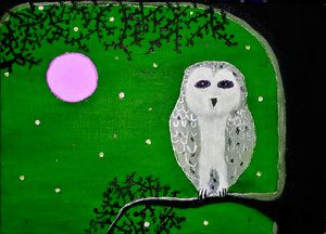 Midnight owl Green