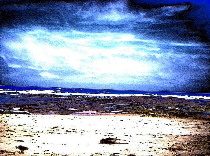 The sea dark - TJ Allen