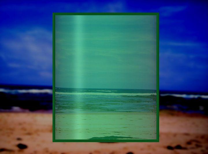 The sea green square - TJ Allen