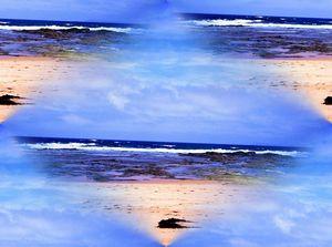The sea pattern