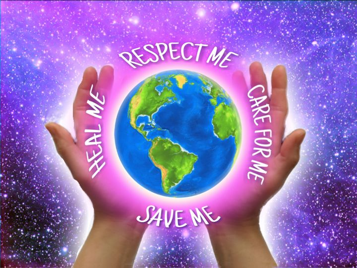 Respect our planet world healing - TJ Allen