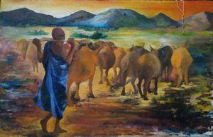 Grazing in North-Eastern Uganda