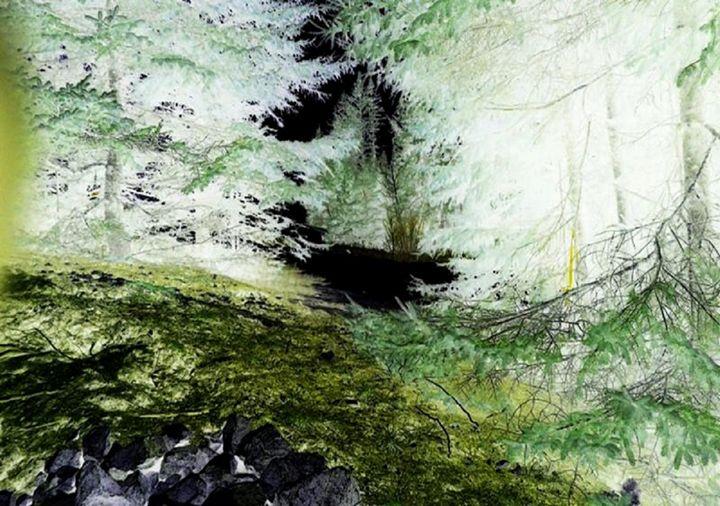 Green neon forest - Demonnova