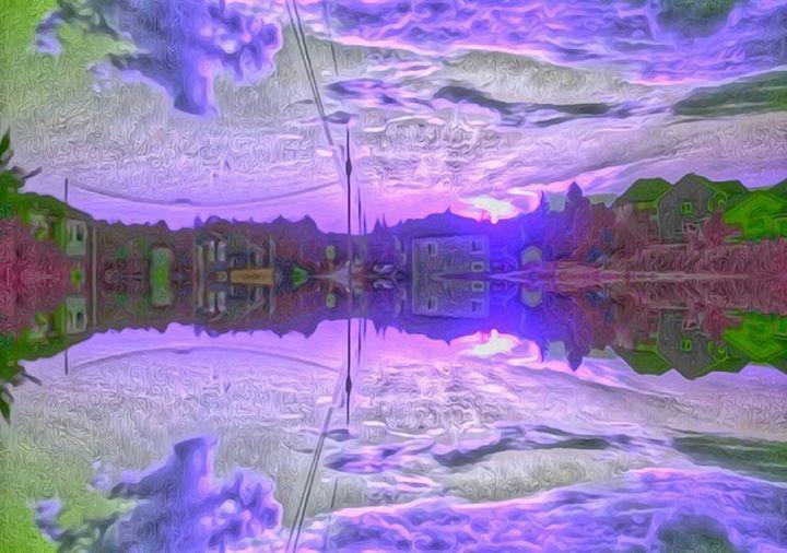 Purple sky paint - Demonnova