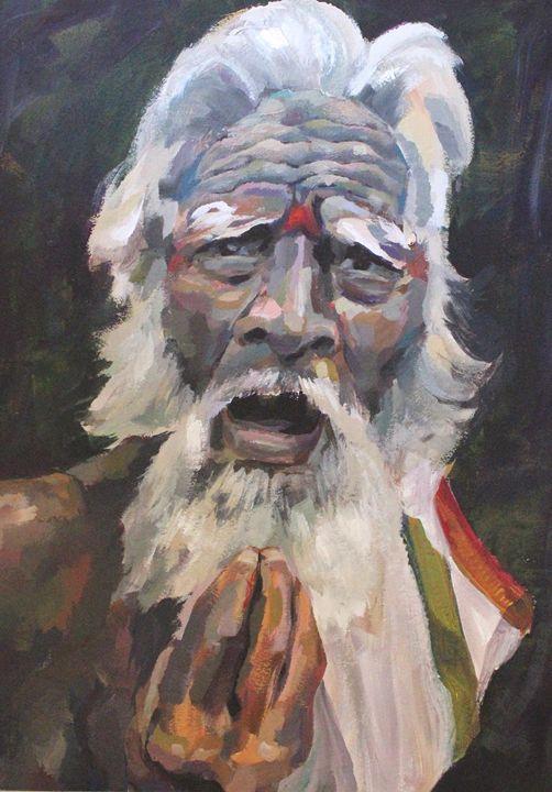 Indian man, portrait - Indian portraits
