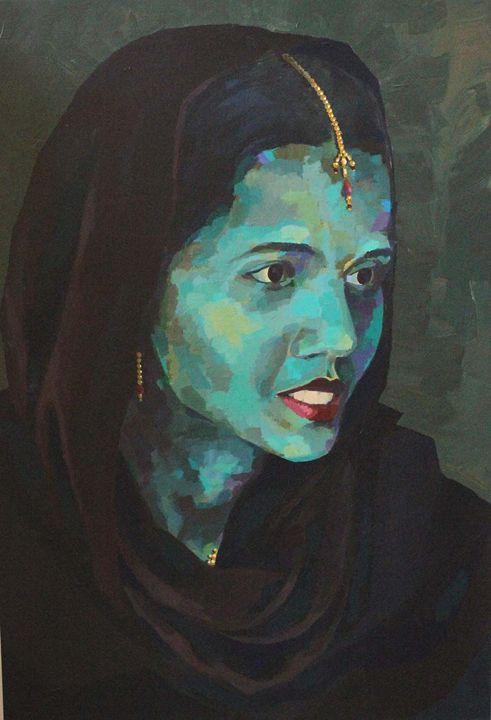 Indian woman, portrait - Indian portraits