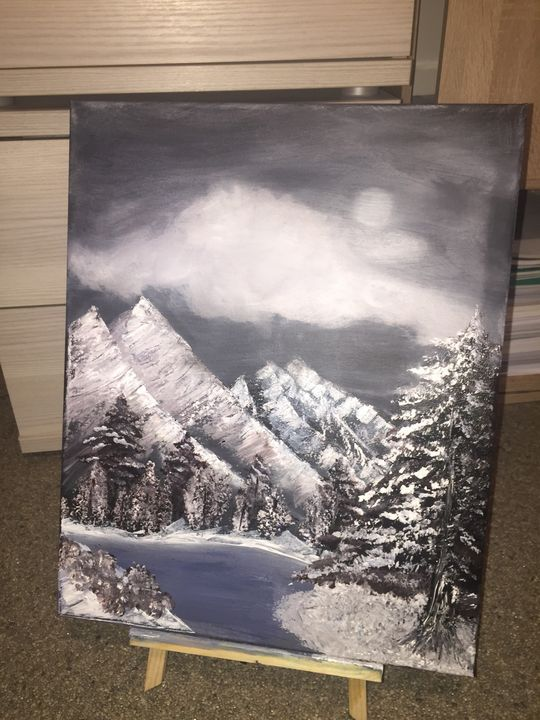 Winter landscape - Xxgokce