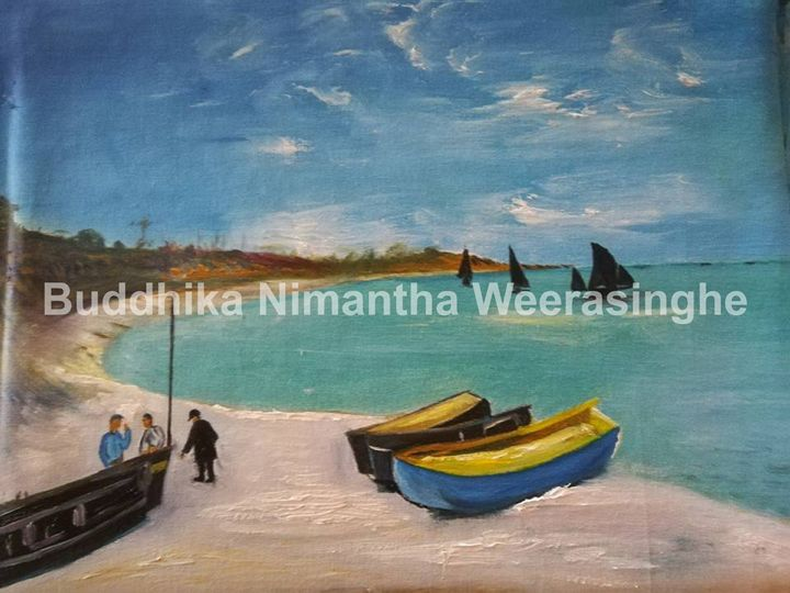 sea view - Buddhika Nimantha Weerasinghe