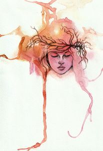Watercolor Girl