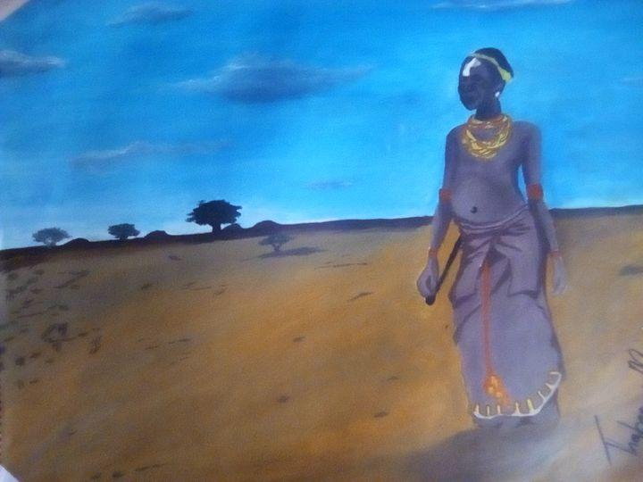 An African girl - STAM's Artwork