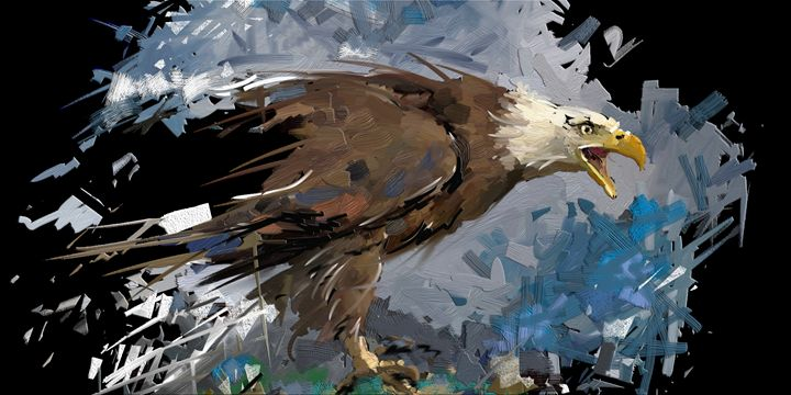 Eagle - painting