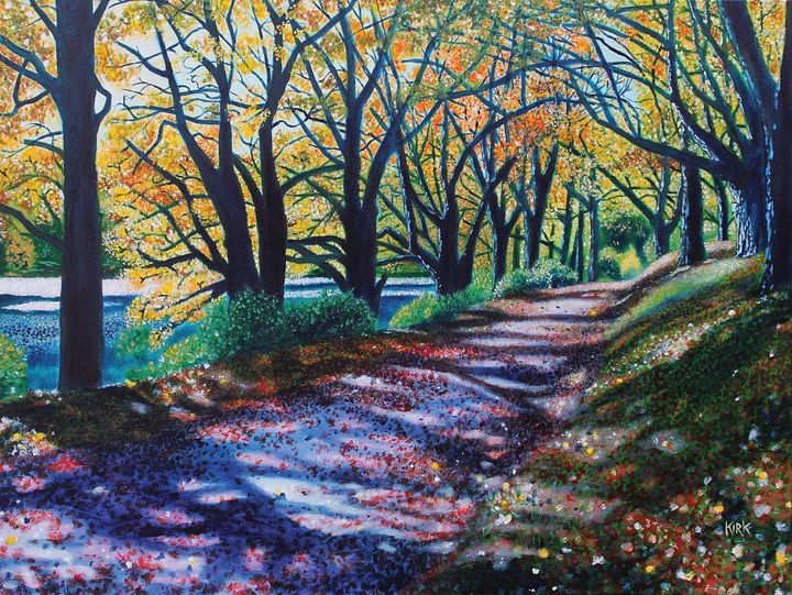 Autumn Canopy - Jerry Lee Kirk