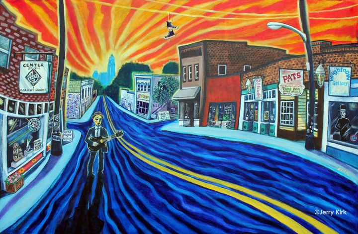 Sunrise on NoDa - Jerry Lee Kirk