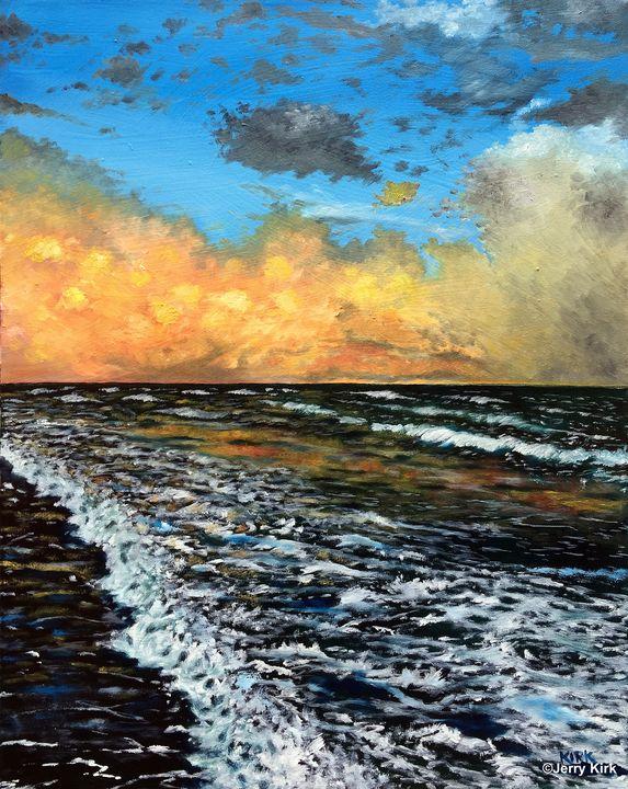 Ocean Sunset - Jerry Lee Kirk