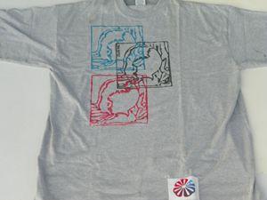 2XXL Grey CWATIC T-Shirt