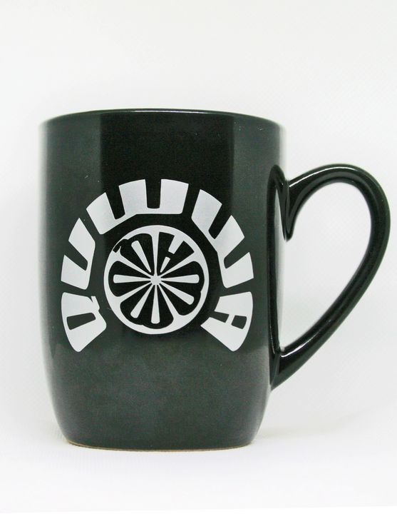 12 oz. Black Quwwa Coffee Mug - Quwwa Artworks