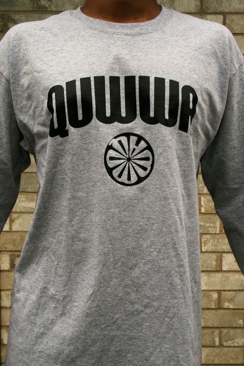 Long Sleeve Quwwa Logo Tee - Quwwa Artworks