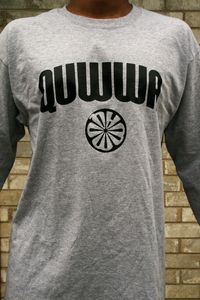 Long Sleeve Quwwa Logo Tee