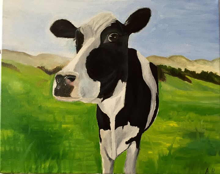Swiss Cow - Abel Horvath