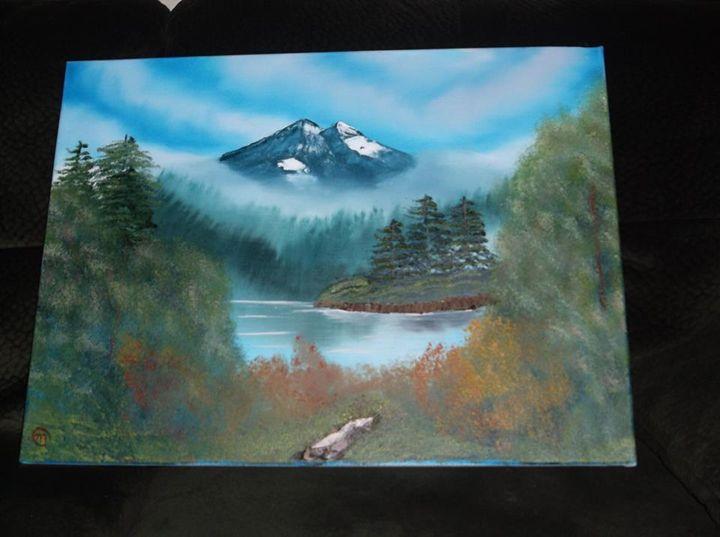 Fog mountain - Michael stocker