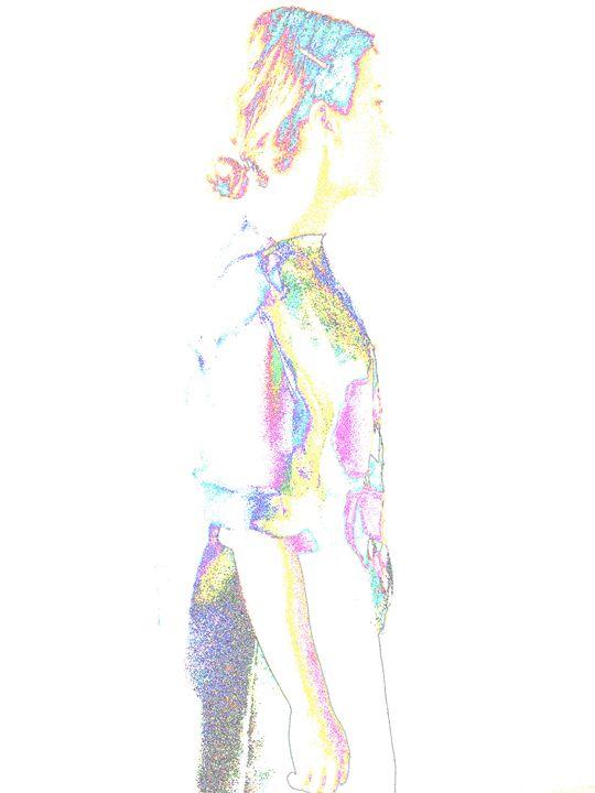Artistic figure - vasilia