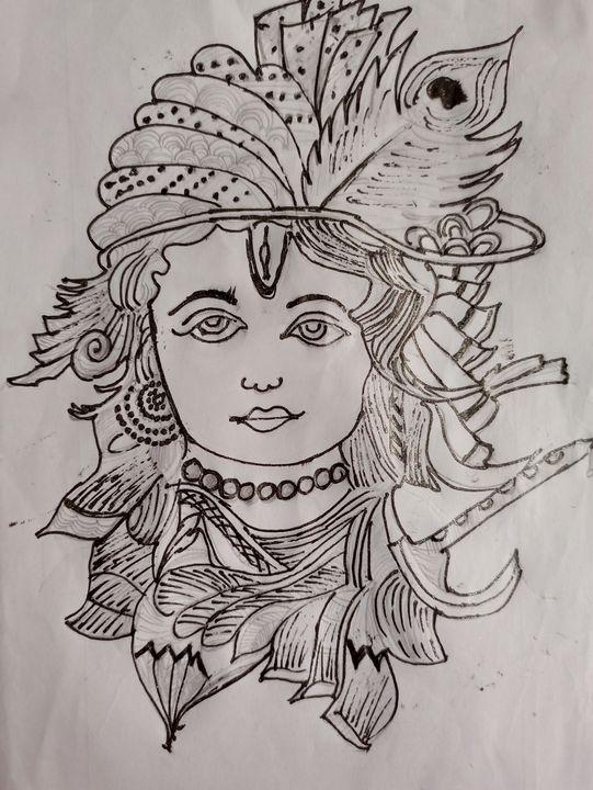Lord Krishna's Blessings - PrTh Arts