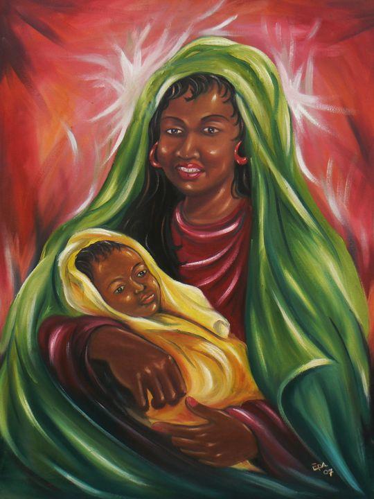 MOTHER AND CHILD - EPA ART AND CREATIVE STUDIO
