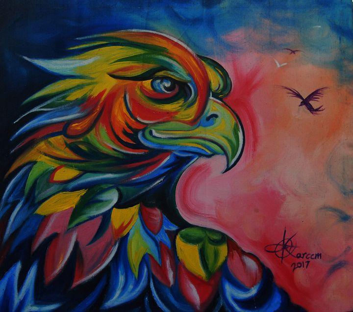 EAGLE EYE ON ME - EPA ART AND CREATIVE STUDIO
