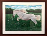 Original painting hand made- horse