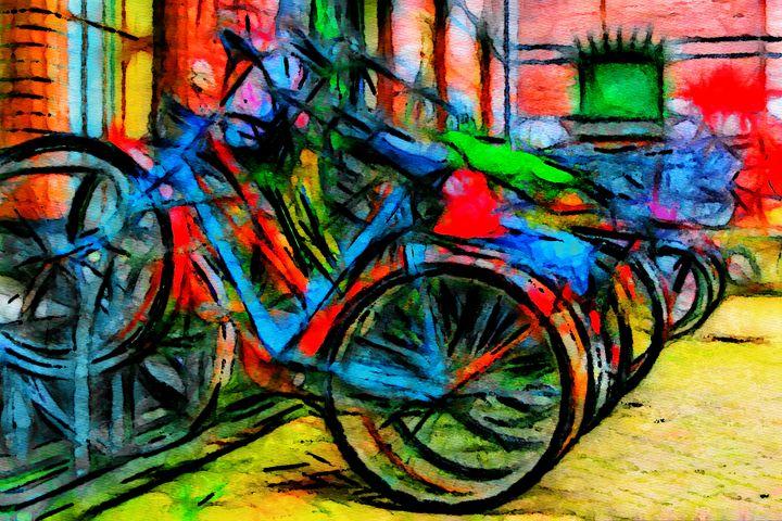 Bikes in Amsterdam - Henry Harrison