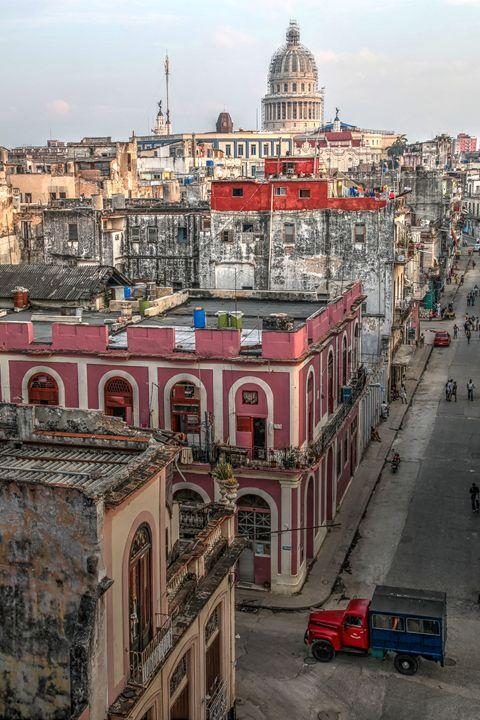 Havana Street View - Henry Harrison