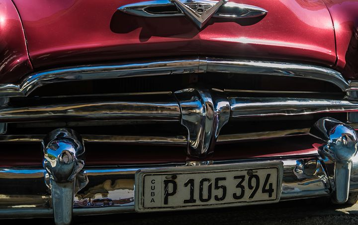 Taxi in Havana - Henry Harrison
