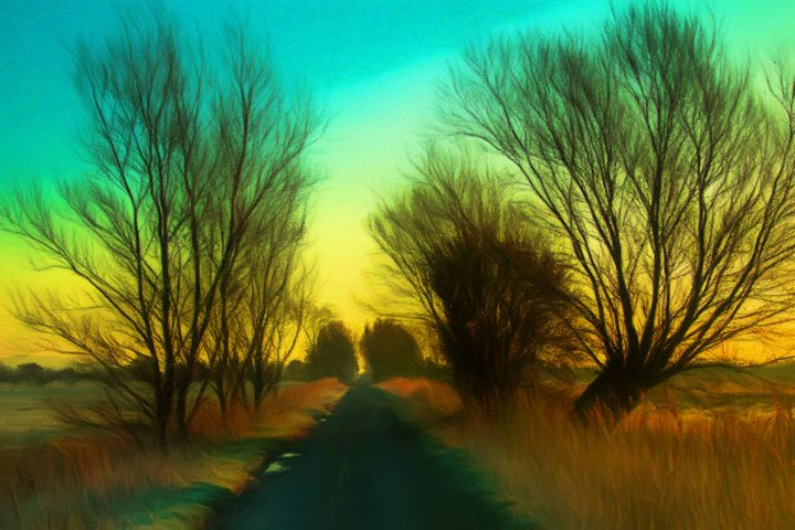 Somerset Country Lane - Henry Harrison