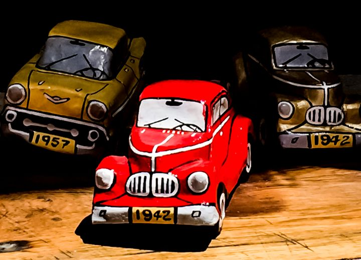 American Tin Cars - Henry Harrison