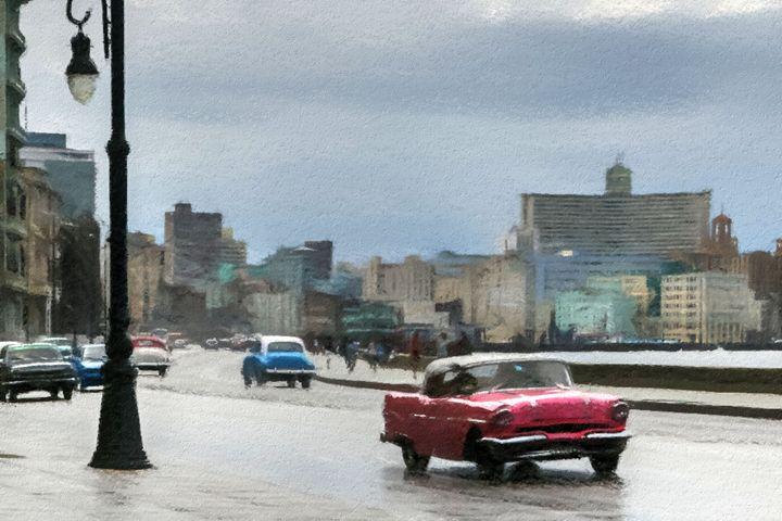 Havana Car Ride - Henry Harrison