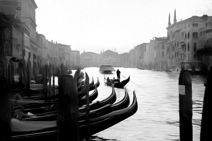 Early Morning Venice - Henry Harrison