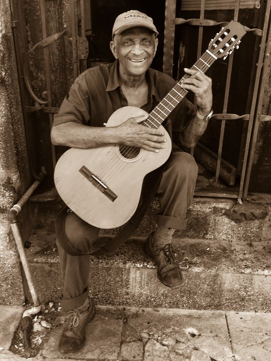 Cuban Guitar Man - Henry Harrison