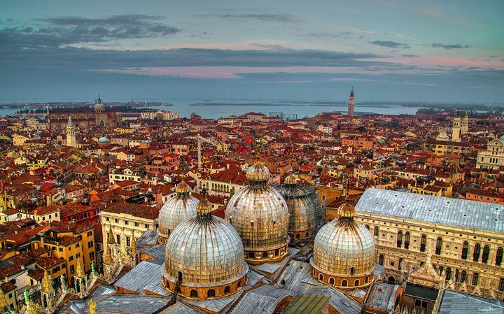 Basilica Domes Venice - Henry Harrison