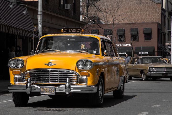 Yellow Cab - Henry Harrison