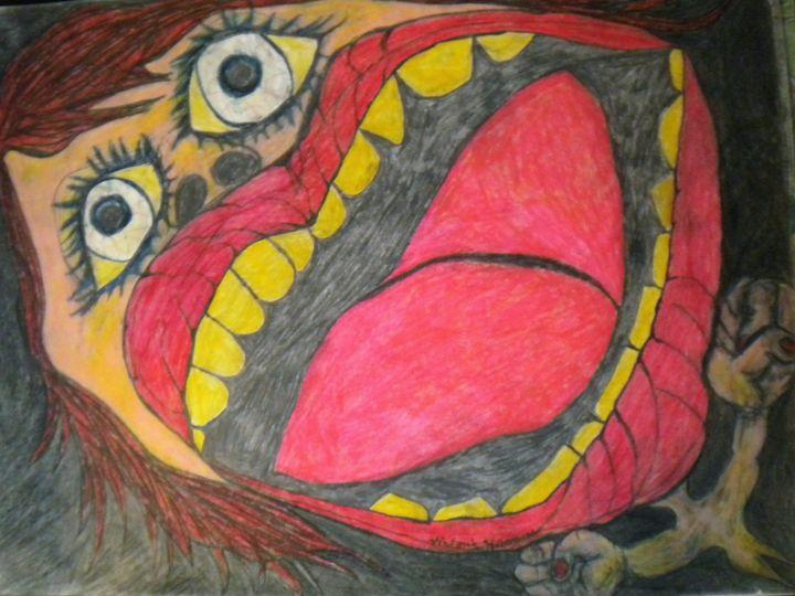 Scream - VickiJane Paintings
