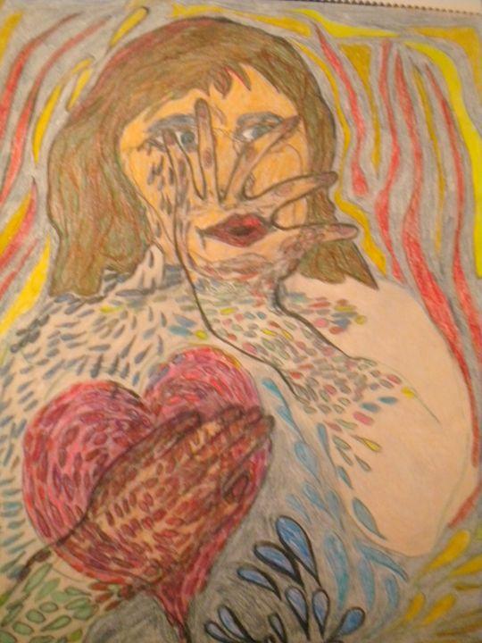 Fear of Losing Boundaries - VickiJane Paintings