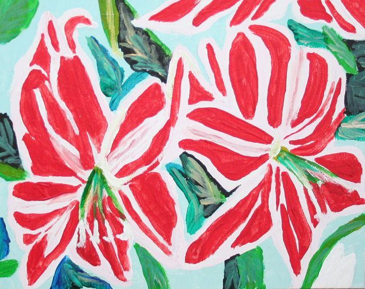 Amarylis - VickiJane Paintings
