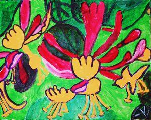 Honeysuckle - VickiJane Paintings