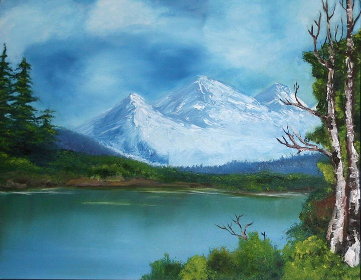 Bob's Lake - VickiJane Paintings