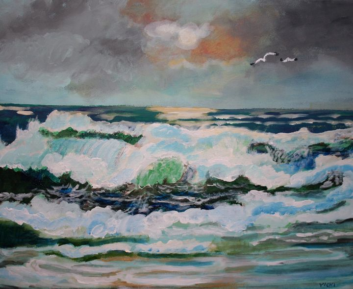 Redondo Beach - VickiJane Paintings
