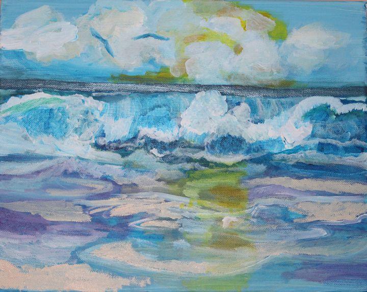 Playa del Rey - VickiJane Paintings